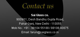 Glass Manufacturer and Supplier NCR